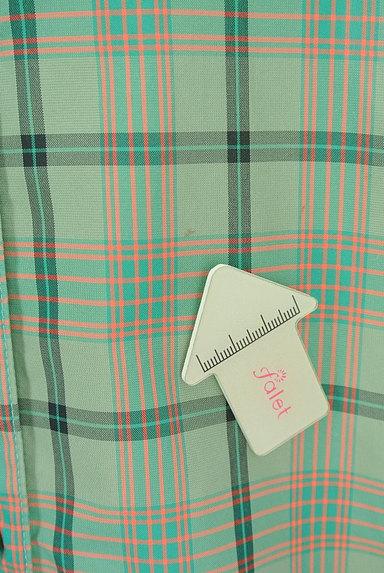 MAYSON GREY(メイソングレイ)の古着「チェックシアーロングシャツ(カジュアルシャツ)」大画像5へ