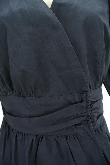 Ketty Cherie(ケティ シェリー)の古着「カシュクールペプラムカットソー(カットソー・プルオーバー)」大画像4へ