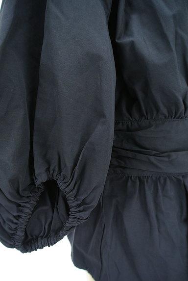 Ketty Cherie(ケティ シェリー)の古着「カシュクールペプラムカットソー(カットソー・プルオーバー)」大画像5へ