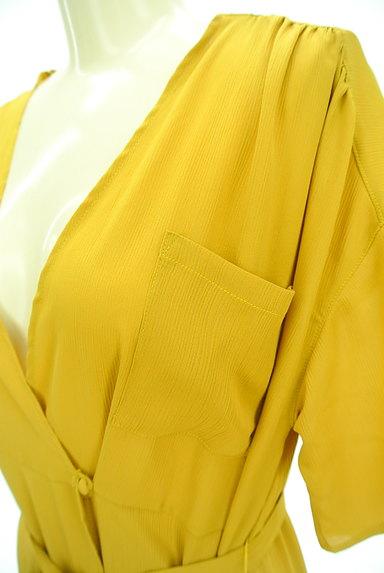 Ketty Cherie(ケティ シェリー)の古着「カシュクールロングワンピ(ワンピース・チュニック)」大画像4へ