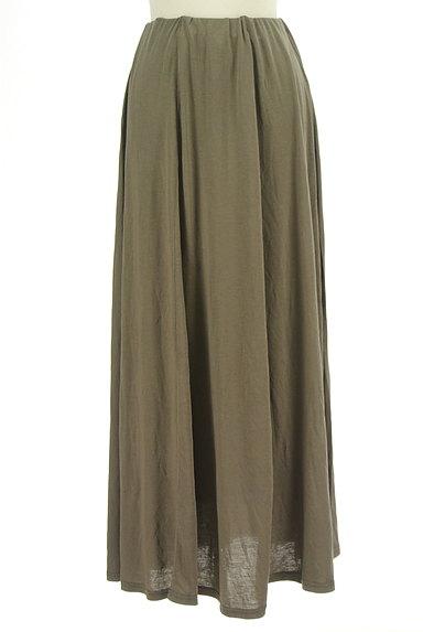 rienda(リエンダ)の古着「シンプルマキシスカート(スカート)」大画像1へ