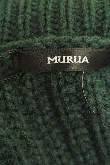 MURUA(ムルーア)の古着「タートルネックワイドロングニット(ニット)」大画像6へ