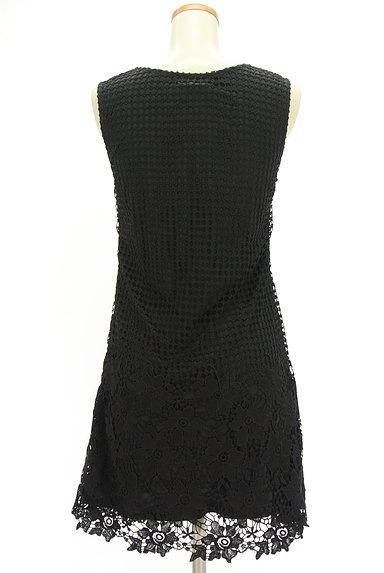 ROYAL PARTY(ロイヤルパーティ)の古着「刺繍レース膝丈ワンピース(キャミワンピース)」大画像2へ