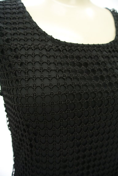 ROYAL PARTY(ロイヤルパーティ)の古着「刺繍レース膝丈ワンピース(キャミワンピース)」大画像4へ