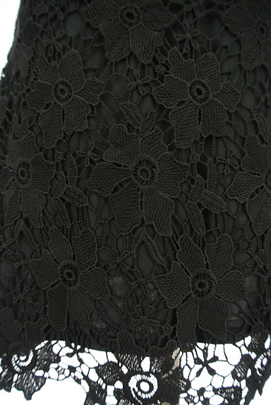 ROYAL PARTY(ロイヤルパーティ)の古着「刺繍レース膝丈ワンピース(キャミワンピース)」大画像5へ