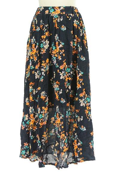 rienda(リエンダ)の古着「花柄ロングスカート(ロングスカート・マキシスカート)」大画像1へ