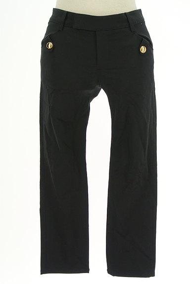 JUSGLITTY(ジャスグリッティー)の古着「ゴールドボタンクロップドパンツ(パンツ)」大画像1へ