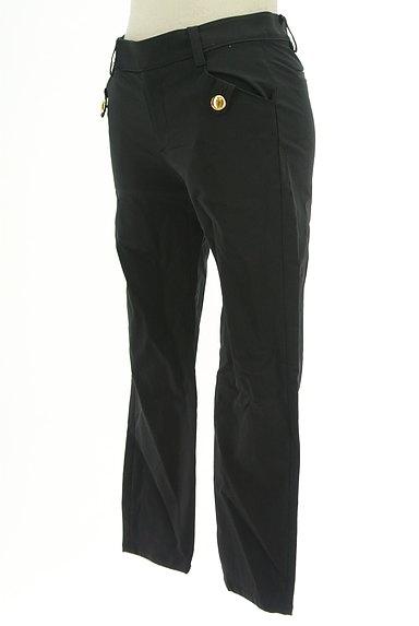 JUSGLITTY(ジャスグリッティー)の古着「ゴールドボタンクロップドパンツ(パンツ)」大画像3へ