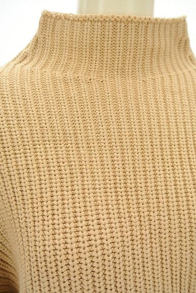 MOUSSY(マウジー)の古着「モックネックボリューム袖ニット(ニット)」大画像4へ