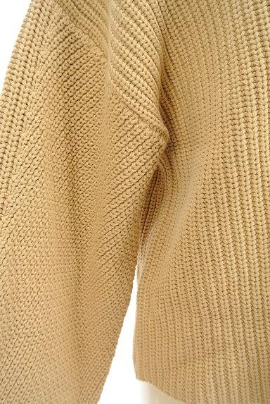 MOUSSY(マウジー)の古着「モックネックボリューム袖ニット(ニット)」大画像5へ