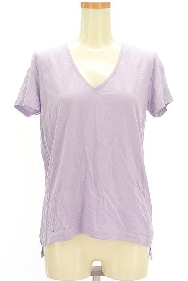 DRWCYS(ドロシーズ)の古着「VネックカラーTシャツ(Tシャツ)」大画像1へ