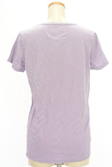 DRWCYS(ドロシーズ)の古着「VネックカラーTシャツ(Tシャツ)」大画像2へ