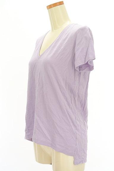 DRWCYS(ドロシーズ)の古着「VネックカラーTシャツ(Tシャツ)」大画像3へ