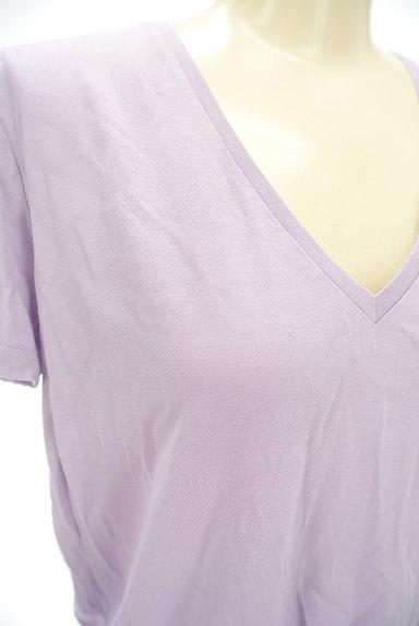 DRWCYS(ドロシーズ)の古着「VネックカラーTシャツ(Tシャツ)」大画像4へ