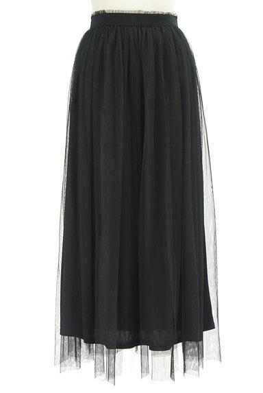 DURAS(デュラス)の古着「チュールロングスカート(ロングスカート・マキシスカート)」大画像1へ