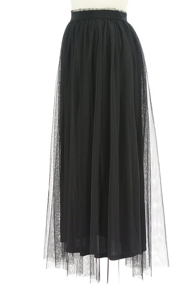 DURAS(デュラス)の古着「チュールロングスカート(ロングスカート・マキシスカート)」大画像3へ