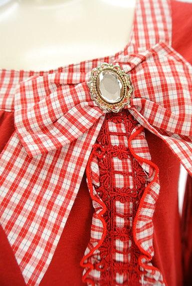axes femme(アクシーズファム)の古着「チェック柄リボンカットソー(カットソー・プルオーバー)」大画像4へ