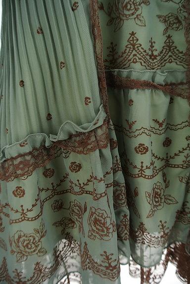 axes femme(アクシーズファム)の古着「フロッキー花柄シフォンキャミワンピ(キャミワンピース)」大画像5へ