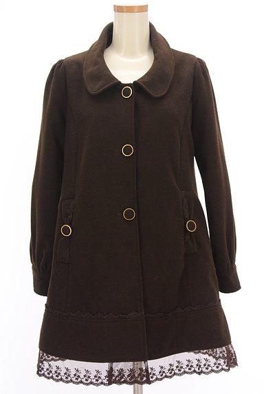 axes femme(アクシーズファム)の古着「裾レースAラインコート(コート)」大画像1へ