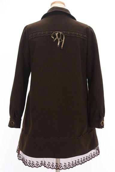 axes femme(アクシーズファム)の古着「裾レースAラインコート(コート)」大画像2へ