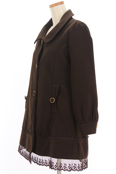 axes femme(アクシーズファム)の古着「裾レースAラインコート(コート)」大画像3へ
