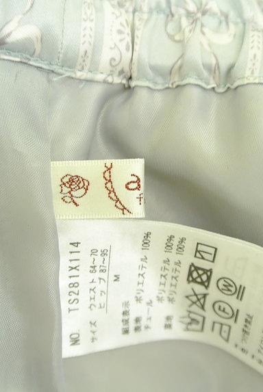 axes femme(アクシーズファム)の古着「ロマンティック柄チュールスカート(スカート)」大画像6へ