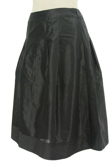 LANVIN(ランバン)の古着「光沢タックフレアスカート(スカート)」大画像3へ