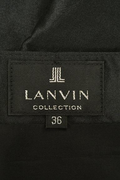LANVIN(ランバン)の古着「光沢タックフレアスカート(スカート)」大画像6へ