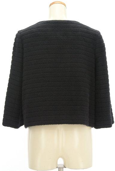 M-premier(エムプルミエ)の古着「アンゴラ混ノーカラーショートコート(コート)」大画像2へ