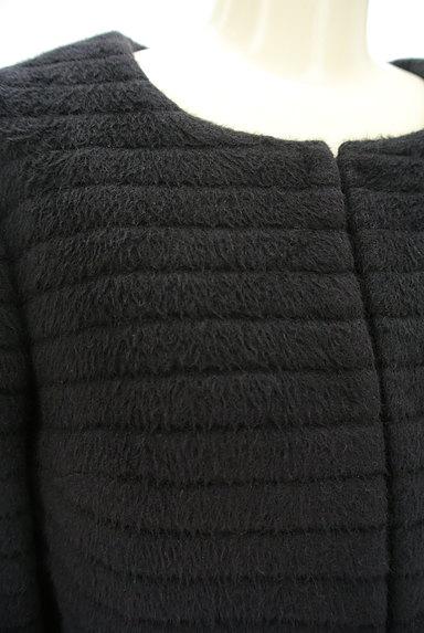 M-premier(エムプルミエ)の古着「アンゴラ混ノーカラーショートコート(コート)」大画像4へ
