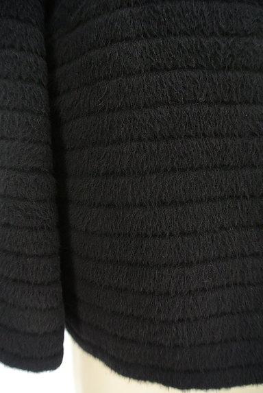 M-premier(エムプルミエ)の古着「アンゴラ混ノーカラーショートコート(コート)」大画像5へ