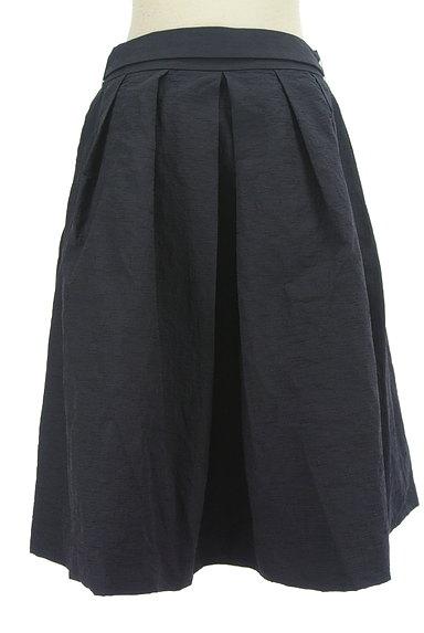 TO BE CHIC(トゥービーシック)の古着「ウエストリボンシワ加工フレアスカート(スカート)」大画像2へ
