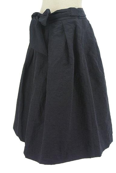 TO BE CHIC(トゥービーシック)の古着「ウエストリボンシワ加工フレアスカート(スカート)」大画像3へ