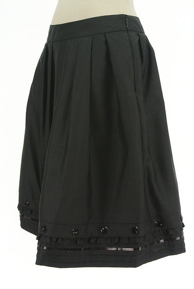 TO BE CHIC(トゥービーシック)の古着「裾装飾フレアスカート(スカート)」大画像3へ