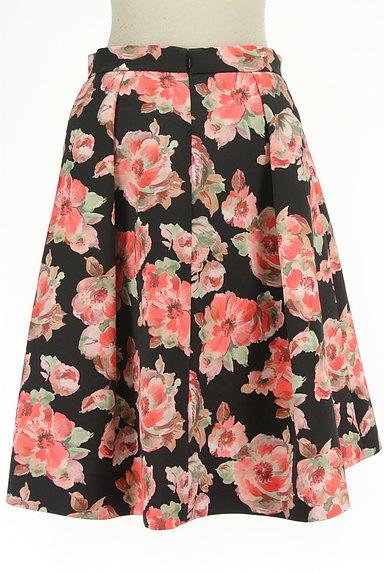 TO BE CHIC(トゥービーシック)の古着「花柄タックフレアスカート(スカート)」大画像2へ