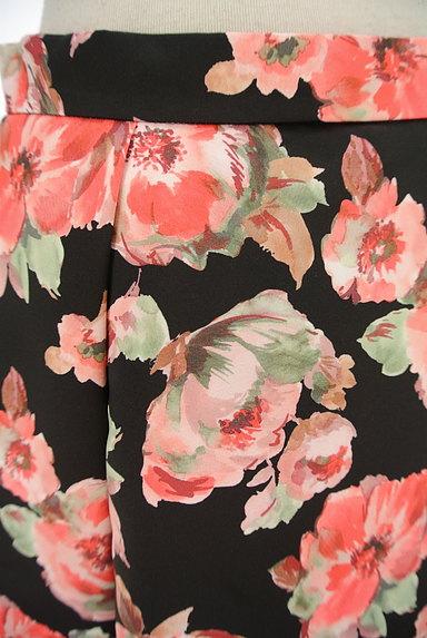TO BE CHIC(トゥービーシック)の古着「花柄タックフレアスカート(スカート)」大画像4へ