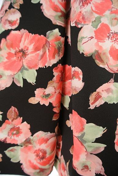 TO BE CHIC(トゥービーシック)の古着「花柄タックフレアスカート(スカート)」大画像5へ