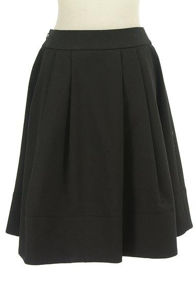 M-premier(エムプルミエ)の古着「膝丈タックフレアスカート(スカート)」大画像2へ
