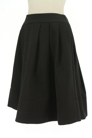 M-premier(エムプルミエ)の古着「膝丈タックフレアスカート(スカート)」大画像3へ