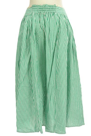 POU DOU DOU(プードゥドゥ)の古着「ストライプ柄ミモレ丈スカート(ロングスカート・マキシスカート)」大画像2へ