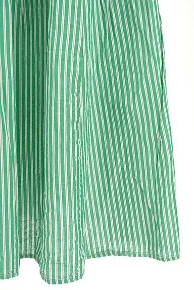 POU DOU DOU(プードゥドゥ)の古着「ストライプ柄ミモレ丈スカート(ロングスカート・マキシスカート)」大画像5へ