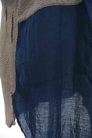 POU DOU DOU(プードゥドゥ)の古着「パッチワーク風シャツ(カジュアルシャツ)」大画像5へ