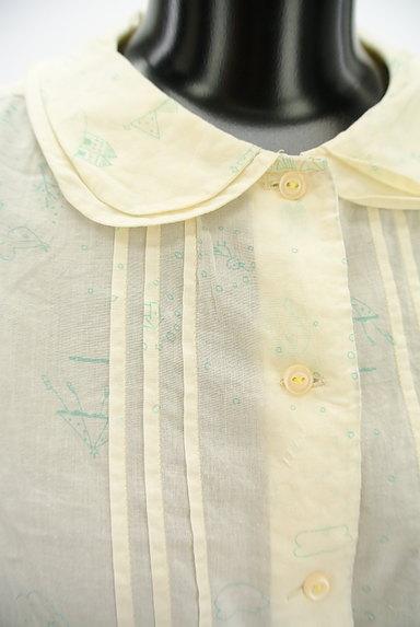 POU DOU DOU(プードゥドゥ)の古着「メルヘンプリントシャツ(カジュアルシャツ)」大画像4へ