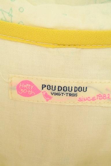 POU DOU DOU(プードゥドゥ)の古着「メルヘンプリントシャツ(カジュアルシャツ)」大画像6へ