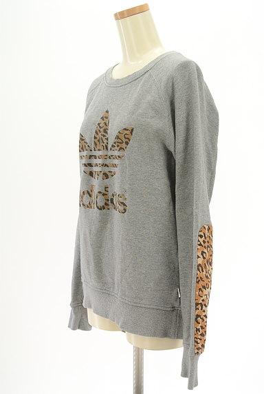 adidas(アディダス)の古着「レオパード柄ロゴスウェット(スウェット・パーカー)」大画像3へ