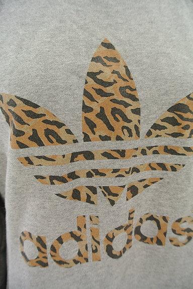 adidas(アディダス)の古着「レオパード柄ロゴスウェット(スウェット・パーカー)」大画像4へ