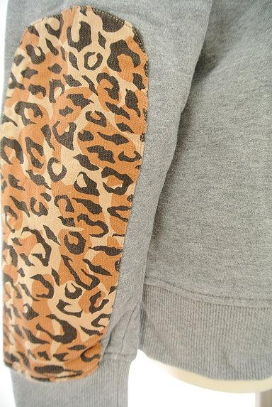 adidas(アディダス)の古着「レオパード柄ロゴスウェット(スウェット・パーカー)」大画像5へ