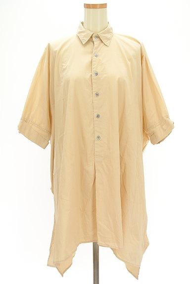 ZUCCa(ズッカ)の古着「前後切替ドルマンロングシャツ(カジュアルシャツ)」大画像1へ