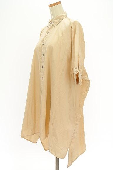 ZUCCa(ズッカ)の古着「前後切替ドルマンロングシャツ(カジュアルシャツ)」大画像3へ