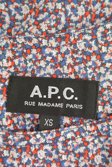 A.P.C.(アーペーセー)の古着「ラウンドネックコットンワンピ(ワンピース・チュニック)」大画像6へ